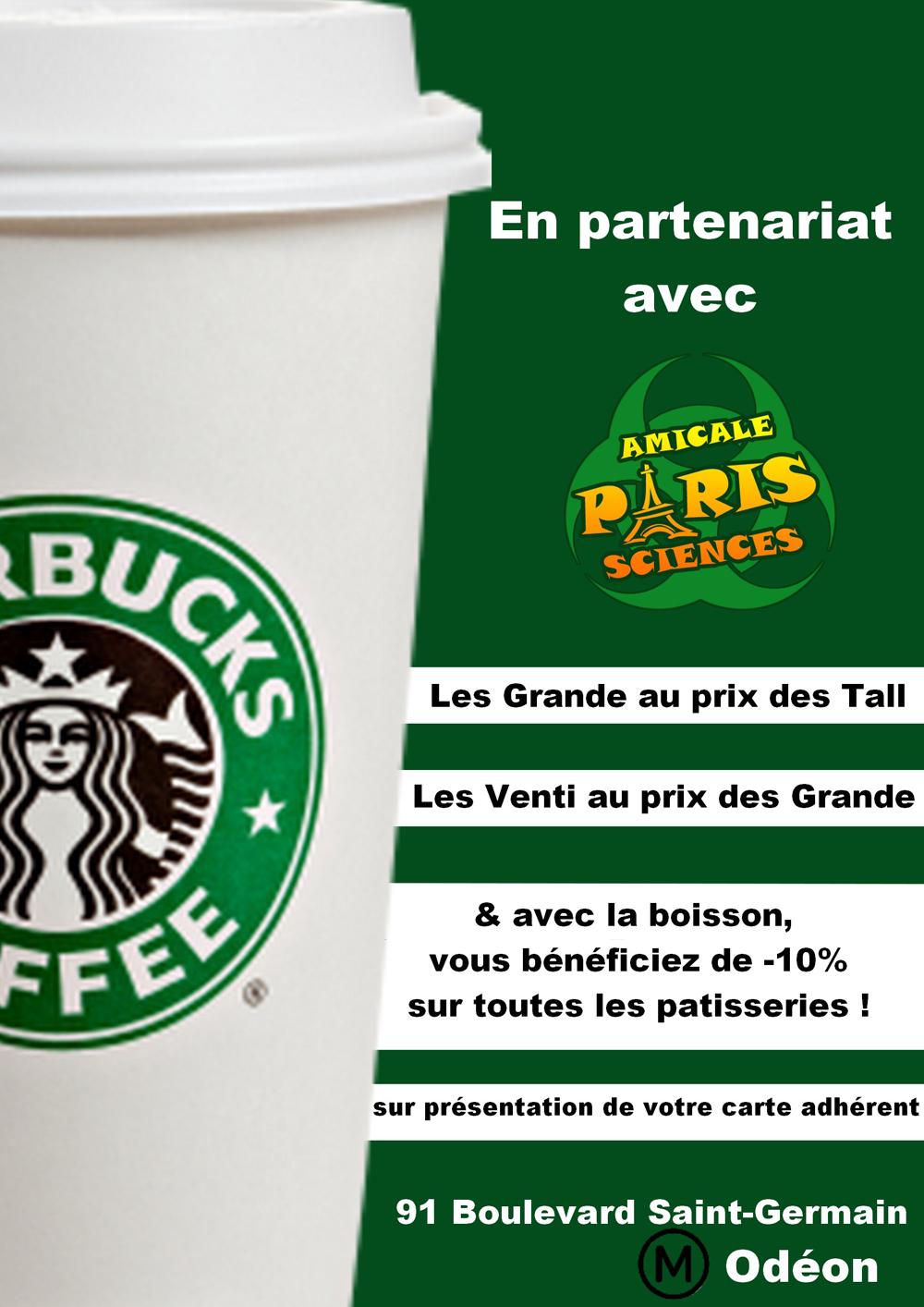 Prix boisson starbucks coffee - Quantite boisson par personne ...